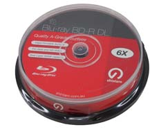 SHN MED BLURAY-50GB-10SPINDLE