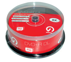 SHN MED DVD+R DUAL LAYER