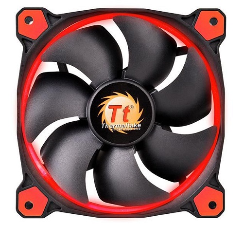 THM FAN 120MM-RED-RIING12-3PACK