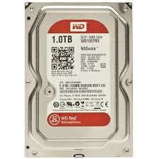 WDD HDD SATA-1TB-RED-WD10EFRX