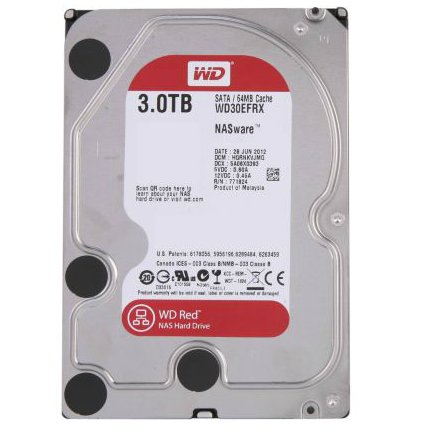 WDD HDD SATA-3TB-RED-WD30EFRX