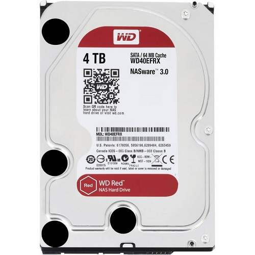 WDD HDD SATA-4TB-RED-WD40EFRX